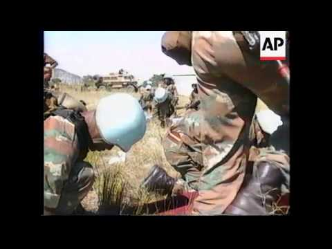 ZIMBABWE: 8 SOUTHERN AFRICAN ARMIES ON JOINT MANOEUVRES