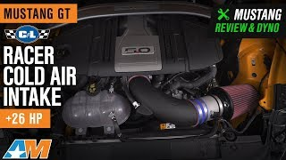 2018-2019 Mustang GT C&L Racer Cold Air Intake Review & Dyno
