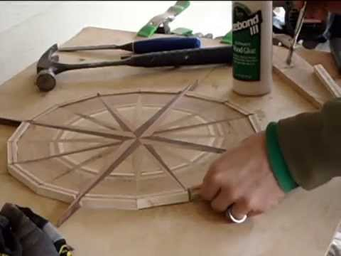 Woodworking Creating A Wooden Compass Jason Michael