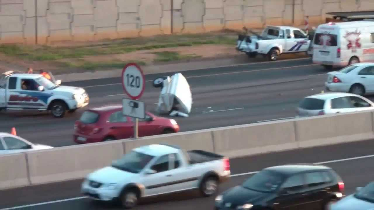 N1 Accident Venter Trailer vs Car Aftermath YouTube