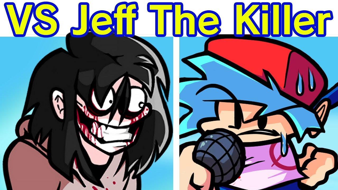 Friday Night Funkin' - VS Jeff The Killer FULL WEEK (FNF Mod/Hard) (Friday Night Slashing) (Scary)
