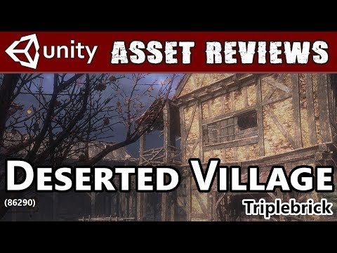 Unity Asset Kit Reviews - Deserted Village