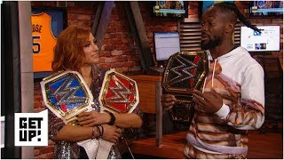 WWE champions Becky Lynch and Kofi Kingston in awe after WrestleMania 35 wins   Get Up!