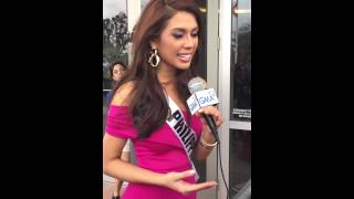 Miss Philippines Universe 2014 Mary Jean Lastimosa's Interview after Celebration of Nations Thumbnail