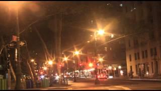 Street Timelapse in Financial District