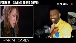 MARIAH CAREY - FOREVER- (Live @ Tokyo Dome 1996)-REACTION VIDEO