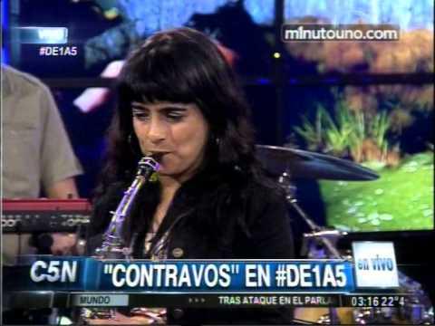 C5N   MUSICA EN VIVO   CONTRAVOS EN DE1A5