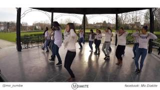 MO DIAKITE: DANZA KIZOMBA reggaeton remix by Dj Baddmixx(Zumba® fitness choreography)