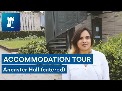 Uni Park Campus - Ancaster Hall tour (catered accommodation)