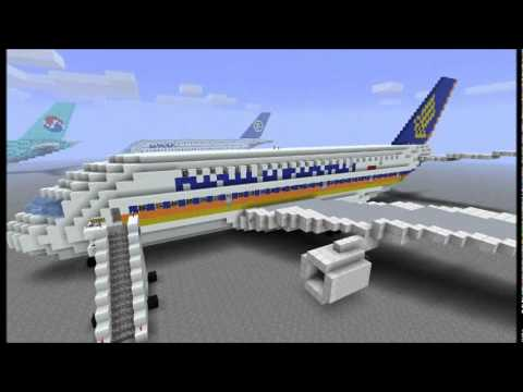 Minecraft A380 - Airliners