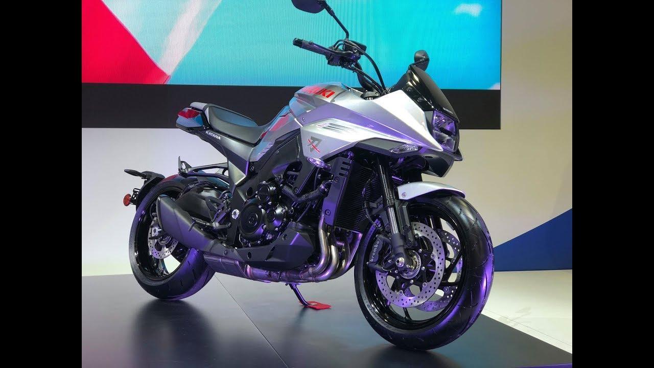 2019 Suzuki Katana First View
