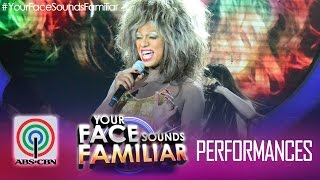 "Your Face Sounds Familiar: Nyoy Volante as Tina Turner - ""Proud Mary"""