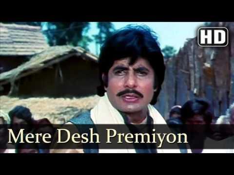 Mohammed Rafi, Mere Desh Premiyo, Desh...