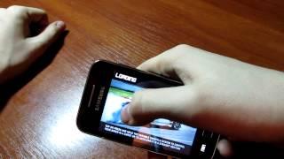 Обзор приложений на Samsung Galaxy Ace