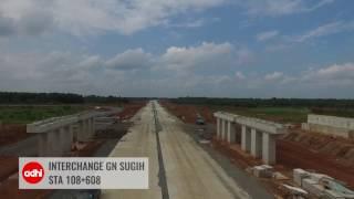 Progress Tol Trans Sumatera Paket 3 Bakauheni - Terbanggi Besar (21feb2017)