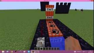 Jak zrobić proste armaty TNT ?