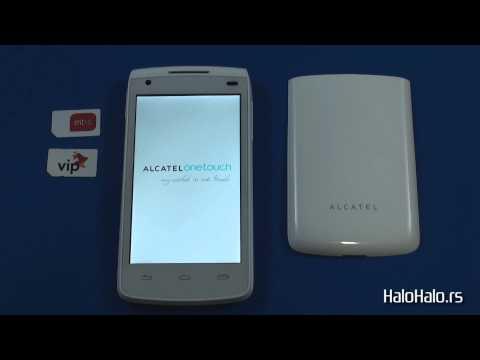 Alcatel OT 992D - Dual Sim hard reset
