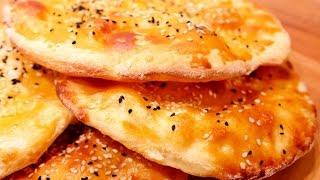 Rezept: Selbstgemachtes Fladenbrot / Pide / Brot / Einfach und lecker!