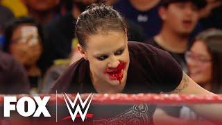 WWE NXT Superstar Shayna Baszler viciously attacks Becky Lynch | MONDAY NIGHT RAW