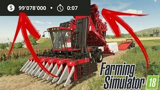 Farming Simulator 18 V.1.4.0.6 MOD/HACK DINHEIRO INFINITO