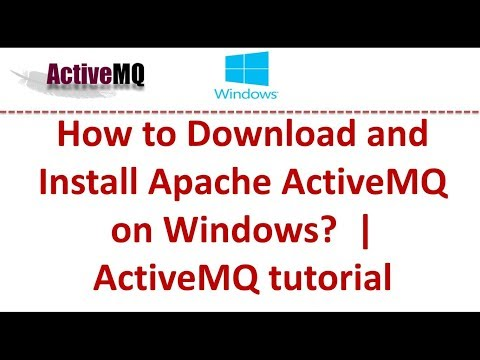 Install Activemq As Windows Service