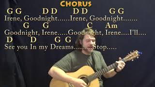 Goodnight, Irene (Traditional) Guitar Cover in G with Chords/Lyrics