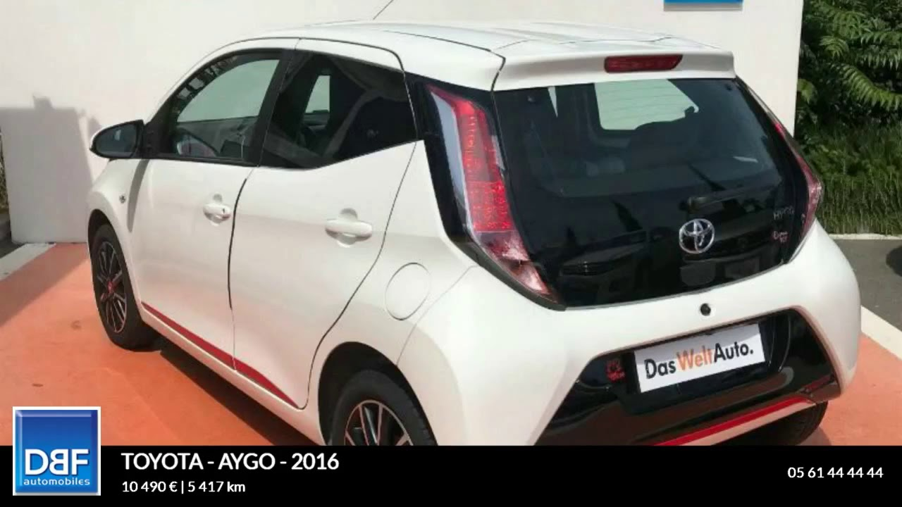Toyota Aygo X Wave Occasion >> Annonce Occasion Toyota Aygo 1 0 Vvt I 69ch X Wave X Shift 5p 1 0
