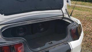 2011 Mustang Custom Sub Box!!!!