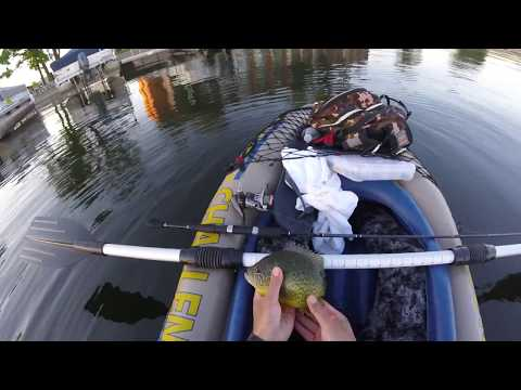 Kayak Fishing In Detroit Lakes Minnesota Becker County 5 31 17