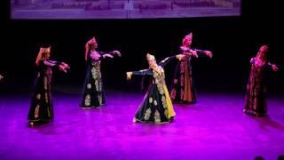 Ensemble \Bahor\  Uzbek dance \Mustahzod\. \Vostochnaya Feeriya\ 2019