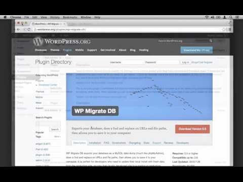 Migrating Your WordPress Database: WP Migrate DB -- Production to Development