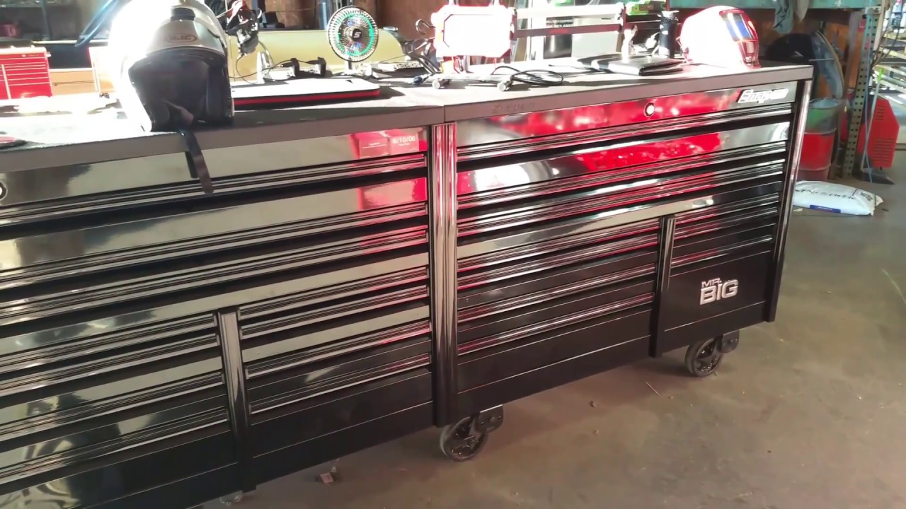 Big Tool Box >> Snap On Mr Big Toolbox Tour J Young