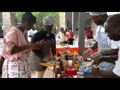 Ama K. Abebrese hosts Hansik Contest