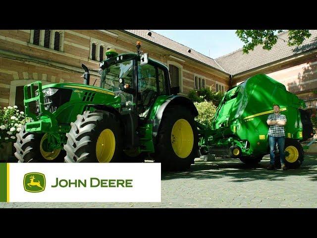 Presses à chambre variable John Deere - la polyvalence par excellence