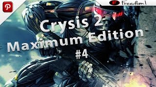 Crysis 2 Maximum Edition PC Ultra Graphics Gameplay [HD 1080p] Part 4
