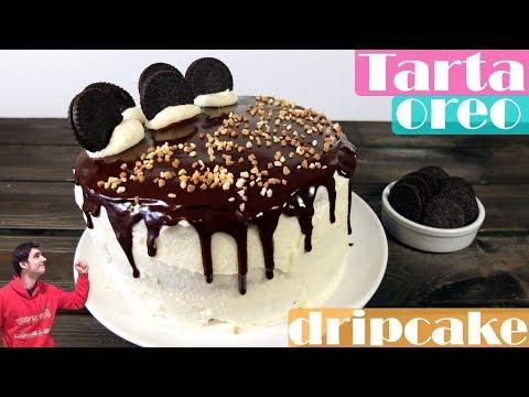 Tarta oreo Dripcake. La mejor tarta de cumpleaños