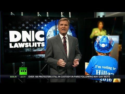 DNC's Wikileaks/Trump Lawsuit a 2018 Fundraiser?   America's Lawyer on RT America  