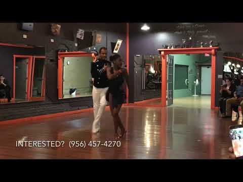 Yamulee Project Oklahoma City Advanced Salsa Team performing in Witchita 2017-11-18