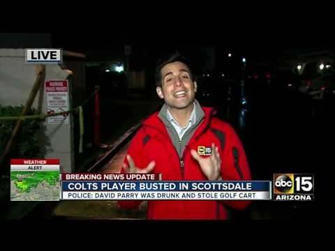 Indianapolis Colts player arrested in Scottsdale