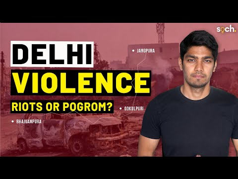 Delhi violence was not a riot. It was a pogrom. How?