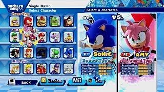 ABM: Sonic vs Amy on SOCH 2014 VALENTINE'S DAY MATCH!!! HD thumbnail