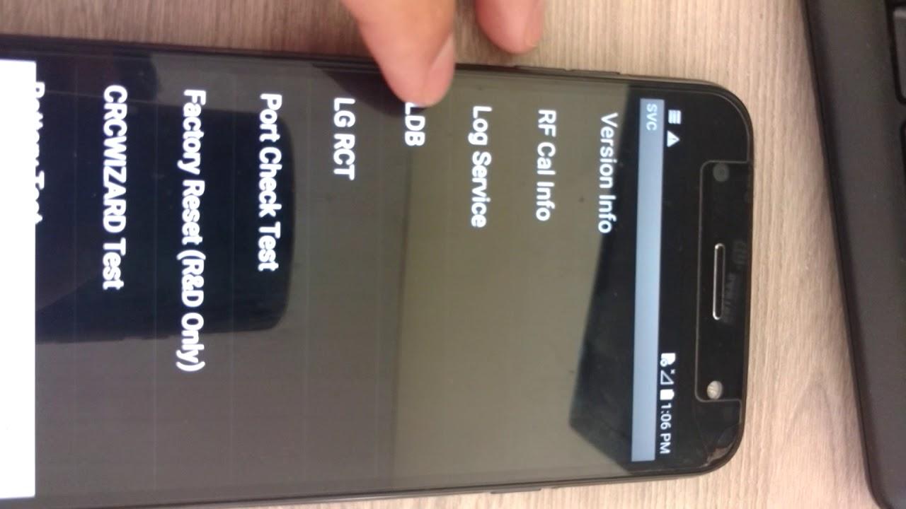 Solução, na parte LDB não ativa depuração usb LG k10 Power M320tv