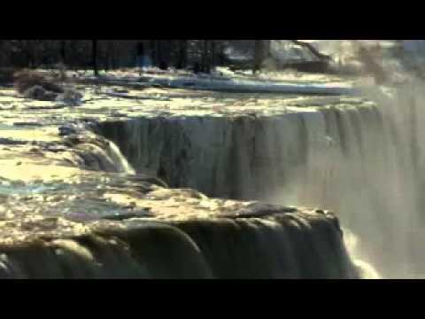 Niagara Fall After Forzen.