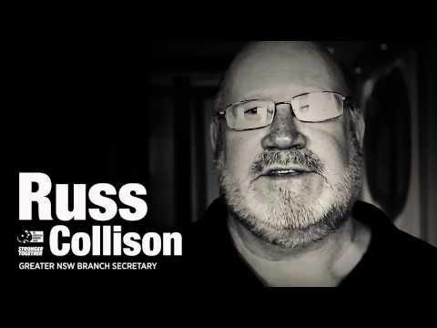 The Australian Workers' Union takes the White Ribbon Pledge