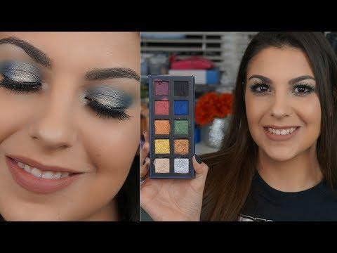 Flirt Cosmetics Major Metallic Eyeshadow Palette REVIEW & SWATCHES
