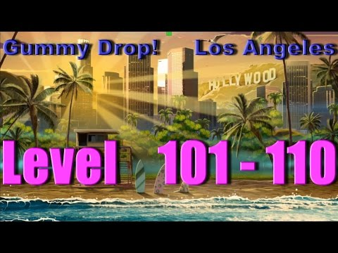 Gummy Drop! - Los Angeles Конфетки! Level 101 - 110