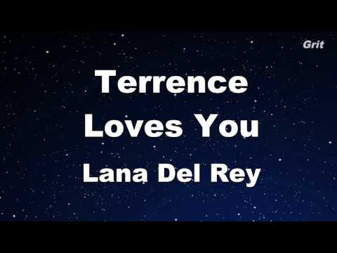 Terrence Loves You - Lana Del Rey Karaoke【Guide Melody】