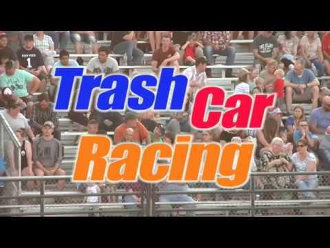 Trash Car Racing July 15, 2017 Logan Utah –  In & Out Tires