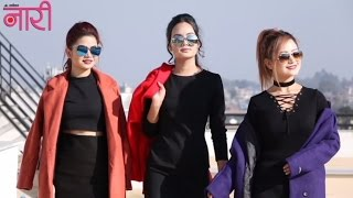 Nari Specials - Paush Issue cover shoot - Melina Rai, Ashmeetah Goutam & Bandana Shrestha
