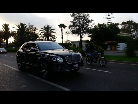 The First Bentley Bentayga First Edition au Maroc !